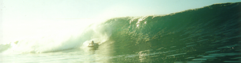 Baldwin Sizes Up A Set Wave At P-Land, La Isla De Silva, Panama.   Photo: T. Cuccaro