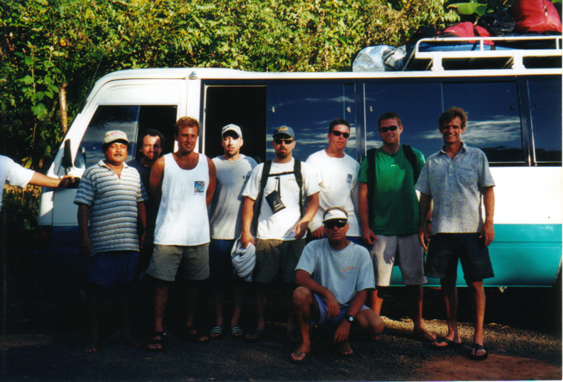 The Crew - Panama 2001             SEE YOU NEXT YEAR.......
