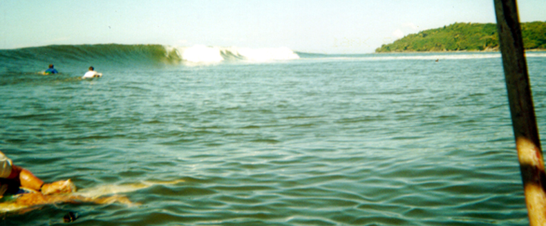 classic sandbar sho from boat-  baldwin and jim paddle out